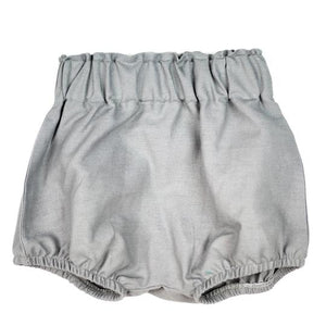E&F Grey Linen Shorts