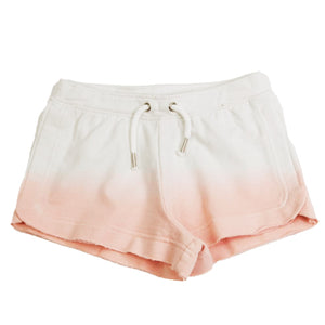 Dip Dye Raw Edge Short