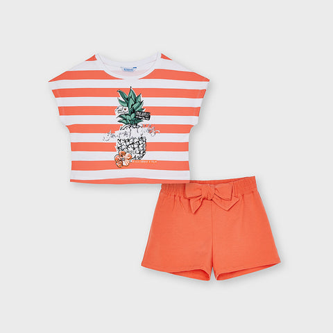 Pineapple Summer Vibes Short Set