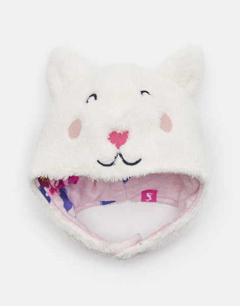 Snuggle Fluffy Cat Character Hat
