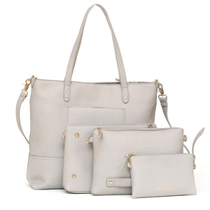 Boss Bag Tote- Gray