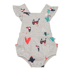 Tropic of Toucan Bubble Romper
