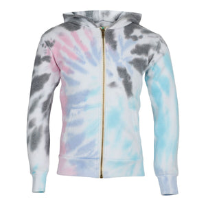 SeaBreeze Zip Up Burnout Hoodie