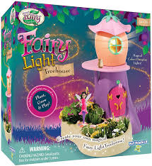 My Fairy Garden Twinkling Light Treehouse