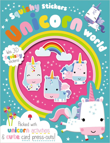 Squishy Stickers Unicorn World