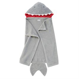 Infant Shark Hooded Towel