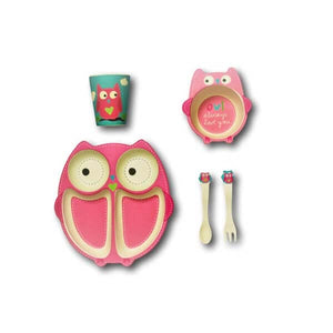 Olivia Owl Shaped Dinner Set