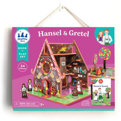 Hansel and Gretel BOOK + PLAYSET