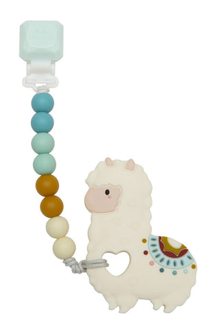 Silicone Teether Set - Llama