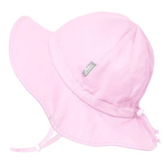 Cotton Floppy Sun Hat - Light Pink