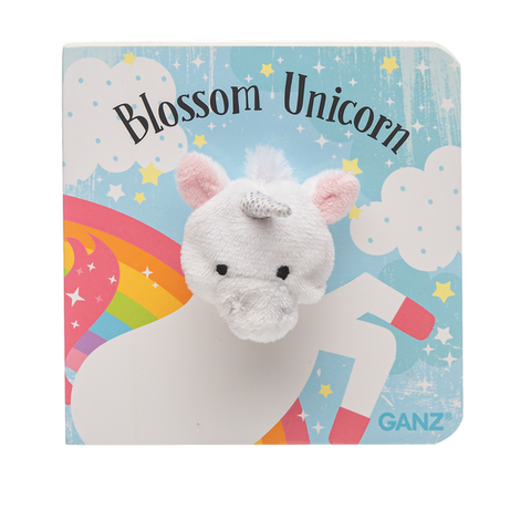 Finger Puppet Book - Blossom Unicorn