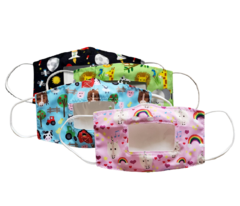 Kids Smile Window Facemask