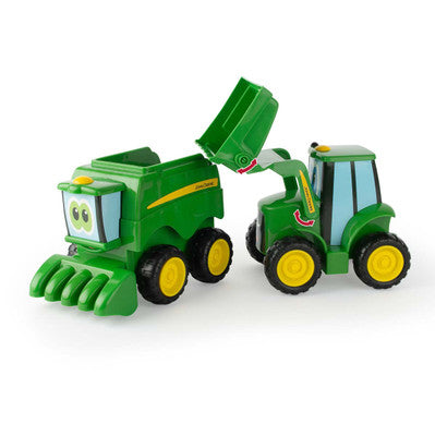 John Deere Farmin Friends Tractor And Combine 2 Pack