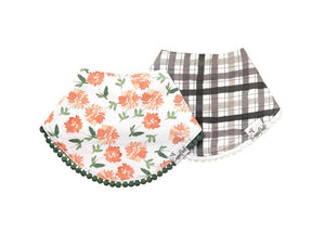Fashion Trimmed Bibs - Hazel