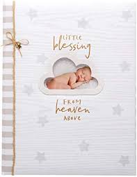 Little Blessing From Heaven Above Memory Book