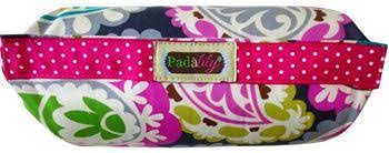 Handle Cushion - Pink Paisley