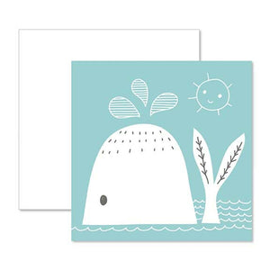 Baby Gift Enclosure - Blue Whale