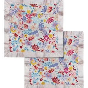 Security Blanket 2-pk - Light Field Flowers