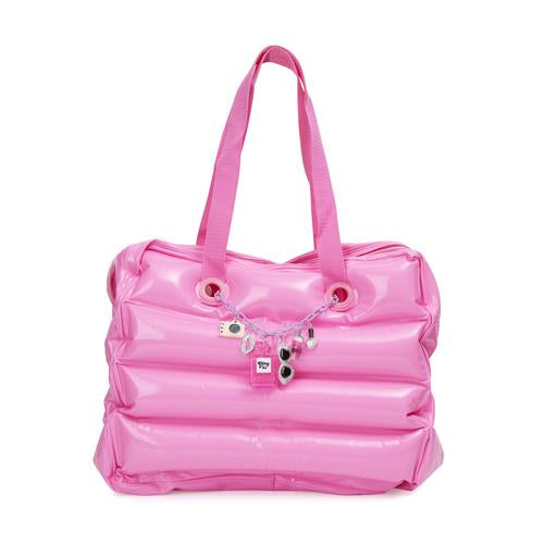 What a Girl Wants Inflatable Tote - Pink