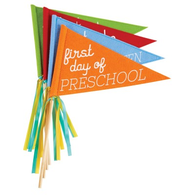 First Day / Last Day of School Flags