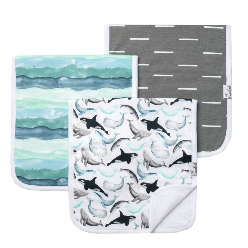Burp Cloth Set- Kai