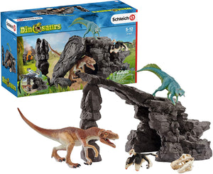 Dino set with cave