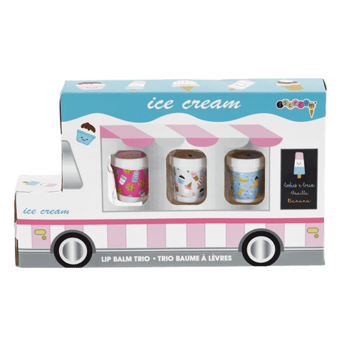 Ice Cream Truck Lip Balm Trio