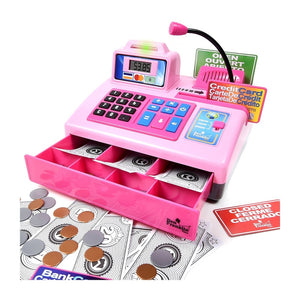 Talking Cash Register- Pink