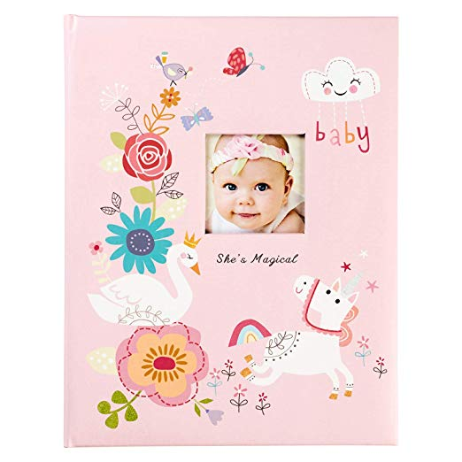 She's Magical Pink Baby Memory Book
