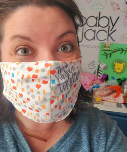 Adult Reusable Face Mask - Kindness