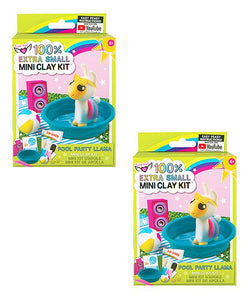 Mini Clay Kit - Pool Party Llama