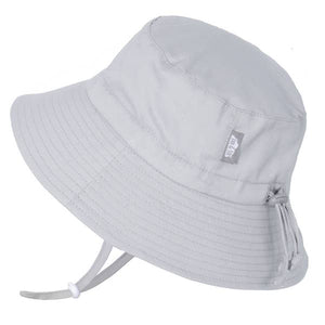 Cotton Bucket Hat - Grey
