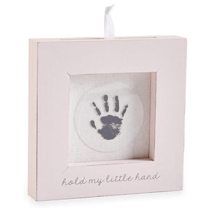 Hand Or Foot Print Frame Pink