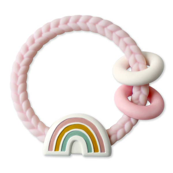 Ritzy Rattle - Rainbow Pink