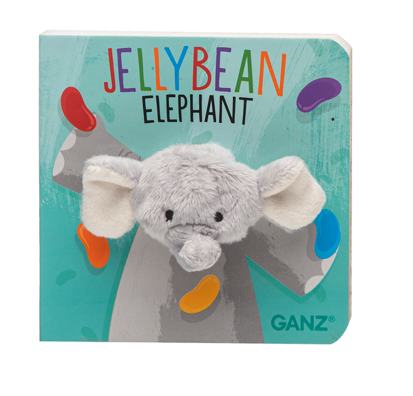 Finger Puppet Book - Jellybean Elephant
