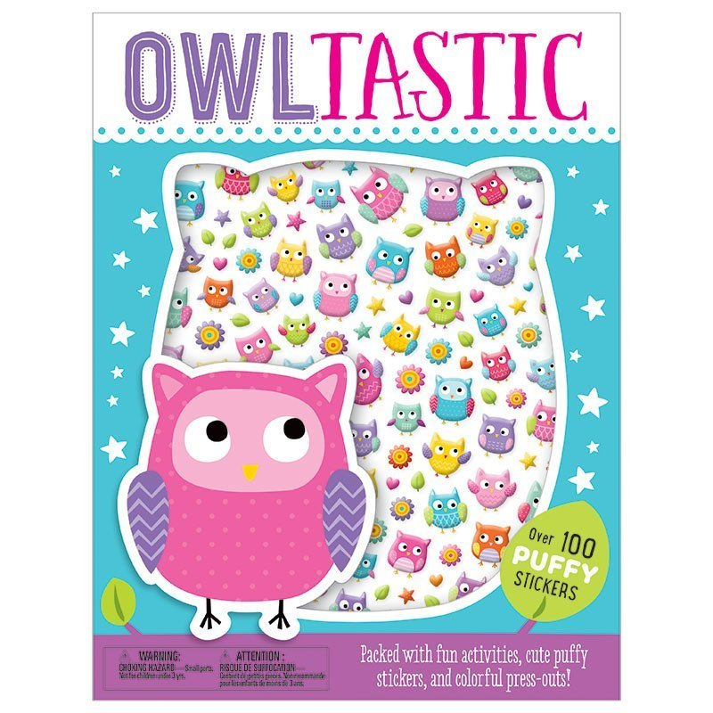 Owltastic Activity Book