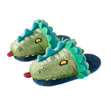 LED Light-Up Dragon Slippers
