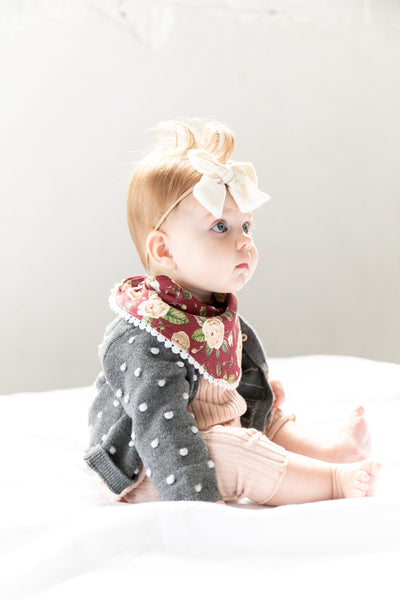 Baby Fashion Bibs - Scarlet