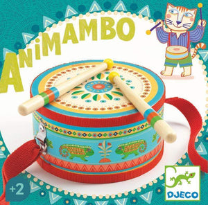 Animambo Hand Drum Musical Instrument