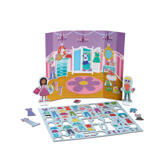 Magnetivity Magnetic Dress-Up Play Set - Dress & Play Fashion