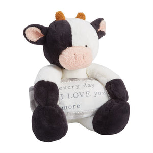 FARMHOUSE COW BLANKET PAL