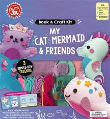 Klutz - My Cat Mermaid & Friends Book & Craft Kit