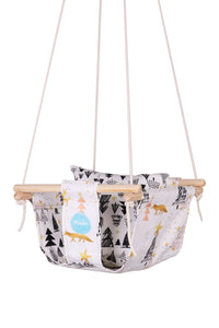 Fox and Forest Baby Swing