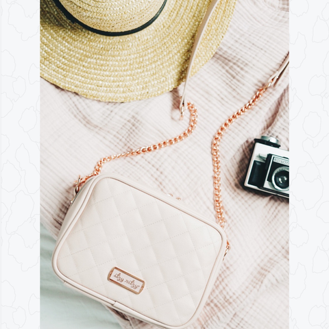 Double Take™ Crossbody Diaper Bag - Blush