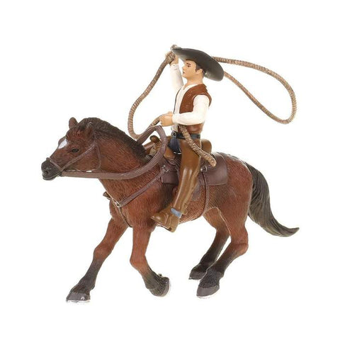 Roping Horse And Rider