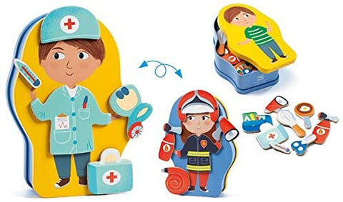 InZeBox Jobissimo Magnetic Activity Set