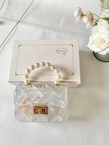Jelly Little Lady Purse - Clear