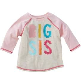 Big Sis T-Shirt and Pennant Set