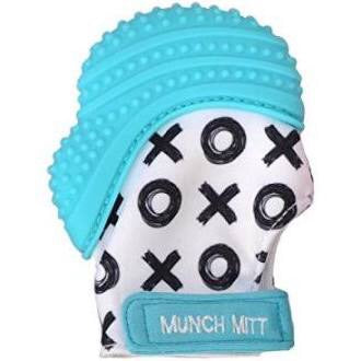 Munch Mitt - Aqua Blue XO