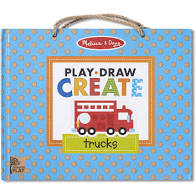 Natural Play: Play, Draw, Create - Trucks